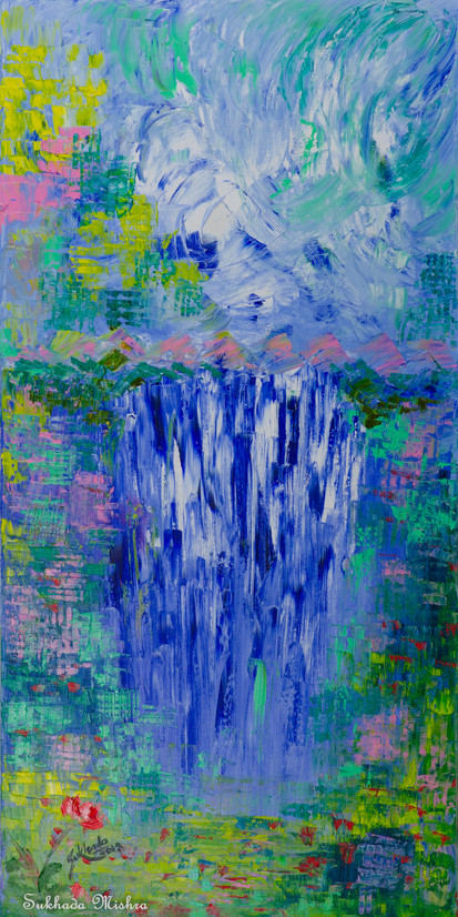 18X36 The Waterfall