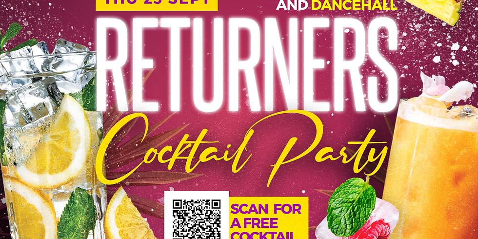 Returners Jam [Cocktails, Afrobeats & Dancehall]