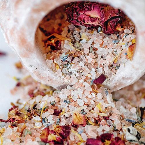 Healing Bath Salt Soaks (8oz)