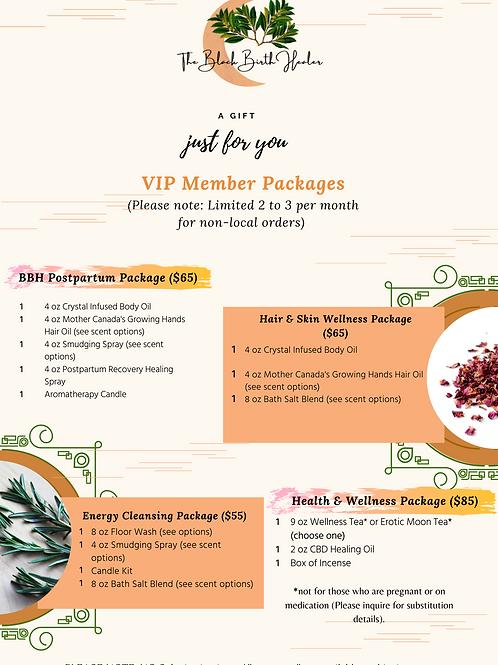 VIP Member Packages