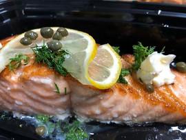 Greek salmon _#esslsdugout #breakfast #y