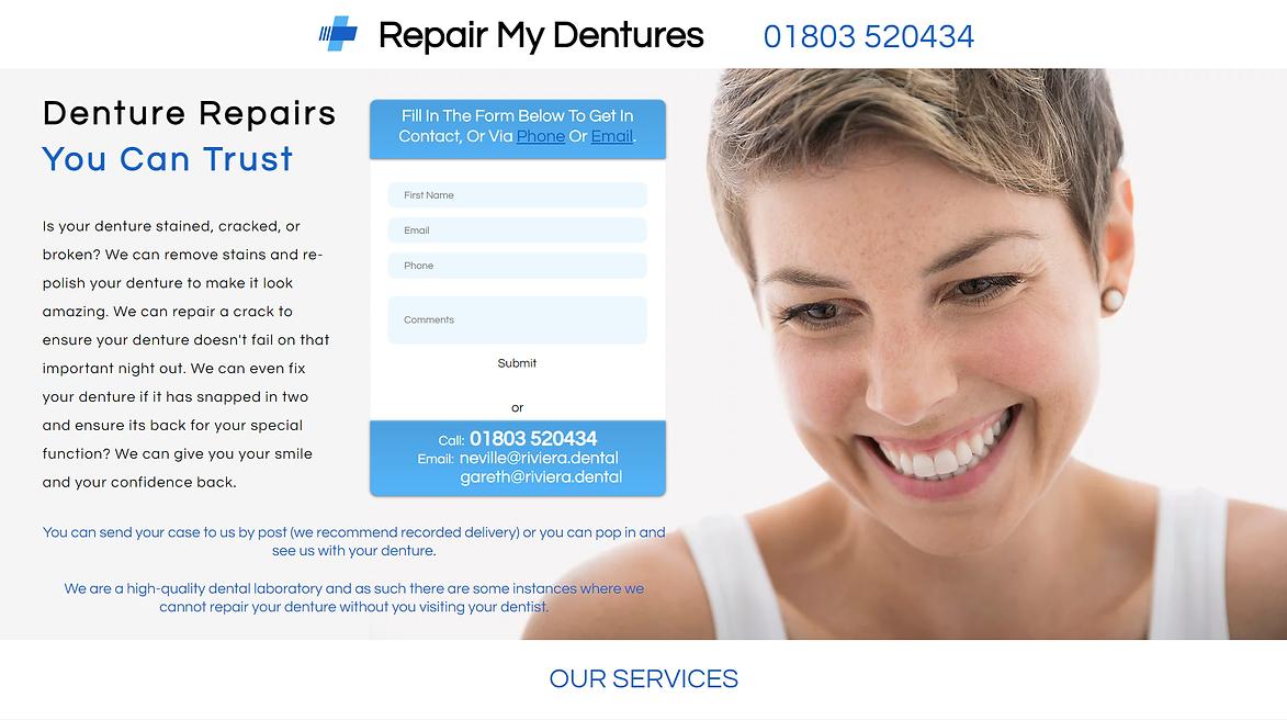 Repair My Dentures