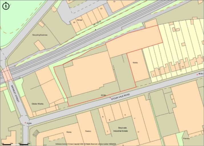 Units 1 & 2 Stour Vale Road Plan View