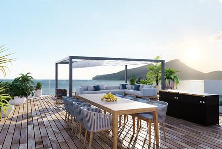 Pool Area  & Terrace