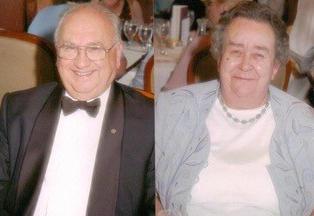 Grampy and Grandma Harper