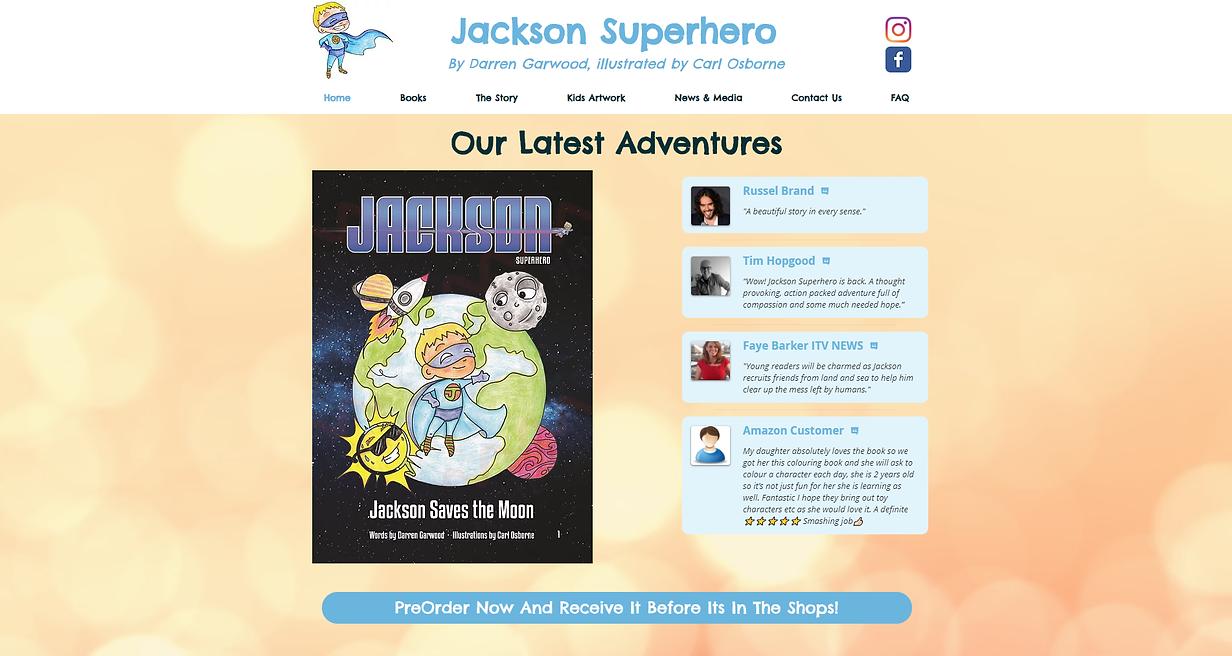Jackson Superhero