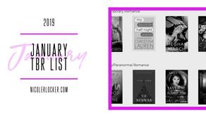 January 2019 TBR List