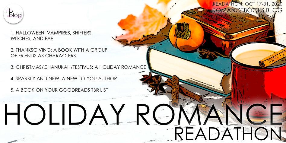 October Banner - Holiday Romance Readath