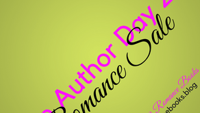 Mark Your Calendars! Indie Author Day 2017 Romance Sale Oct 14-16, 2017