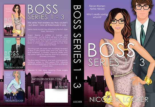KDP Paperback Template - Boss Series 1-3
