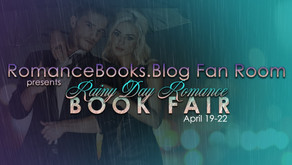 Rainy Day Romance Book Fair + Takeovers (April 19-22)