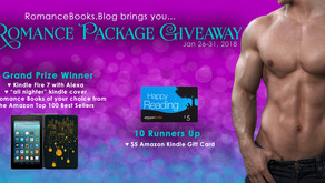 Enter our Romance Package Giveaway! Jan 26-31, 2018
