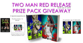 Two Man Red Release Prize Pack Giveaway (ends July 31, 2018)