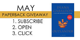 May Paperback Giveaway - Outlander.jpg