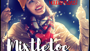 Flash Fiction – Mistletoe and Fire Glow
