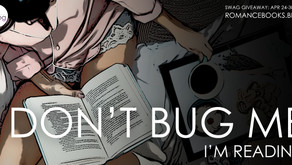 Starting Now! Don't Bug Me - I'm Reading... Book Money Giveaway!