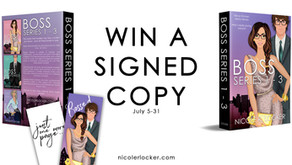 July #Giveaway: Signed Paperback (2 winners)