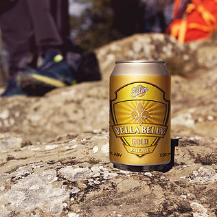 Salem Brew Co. Yella Belly Gold - Can -