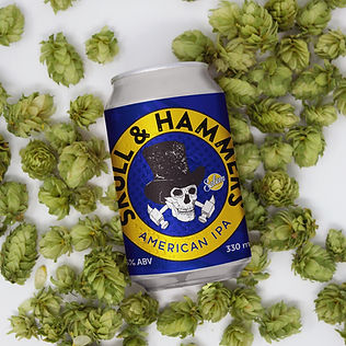 Salem Brew Co. Skull and Hammers - Can -