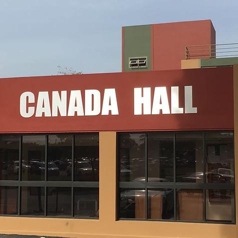 Canada Hall Building & Walkway