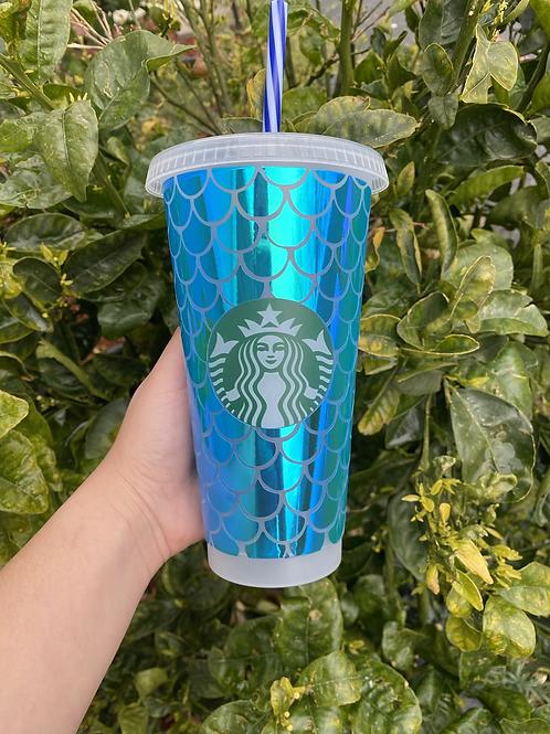 Mermaid Starbucks cup