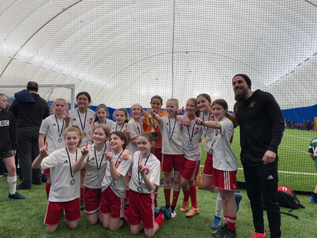 Exciting tournament for the Red Storm (Girls U12)
