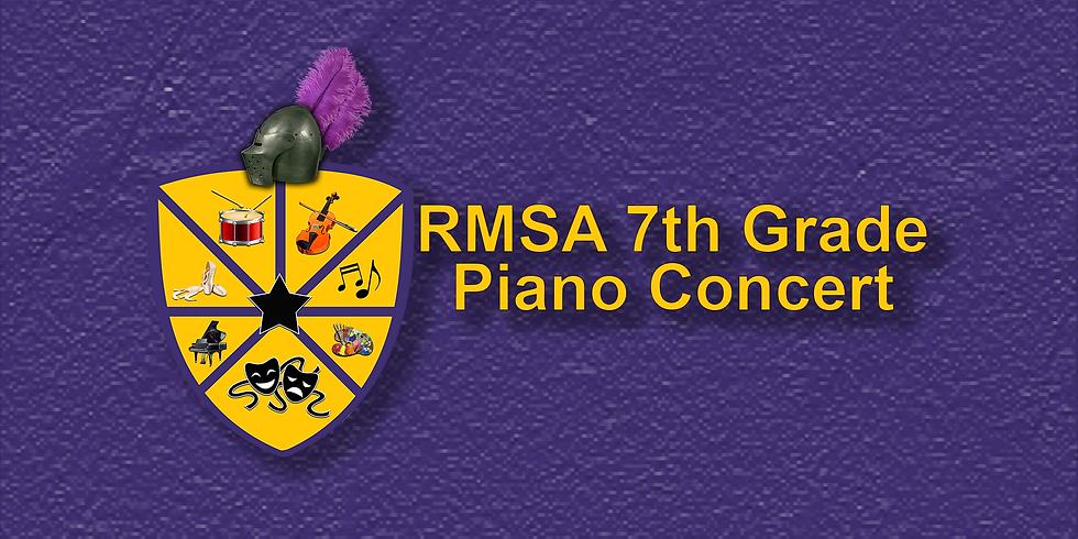 RMSA 7th Grade Piano Concert