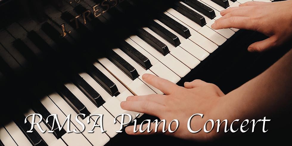 RMSA 8th Grade Piano Recital