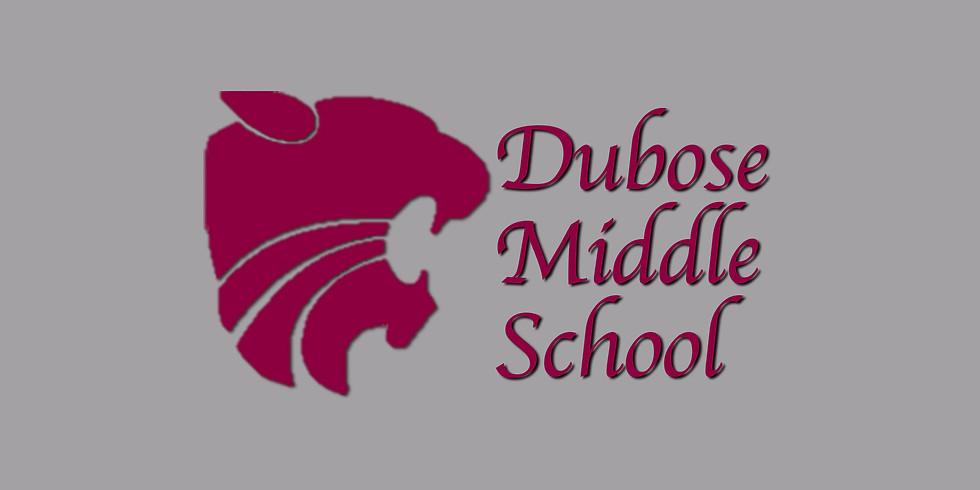 Dubose Middle School Dance Show