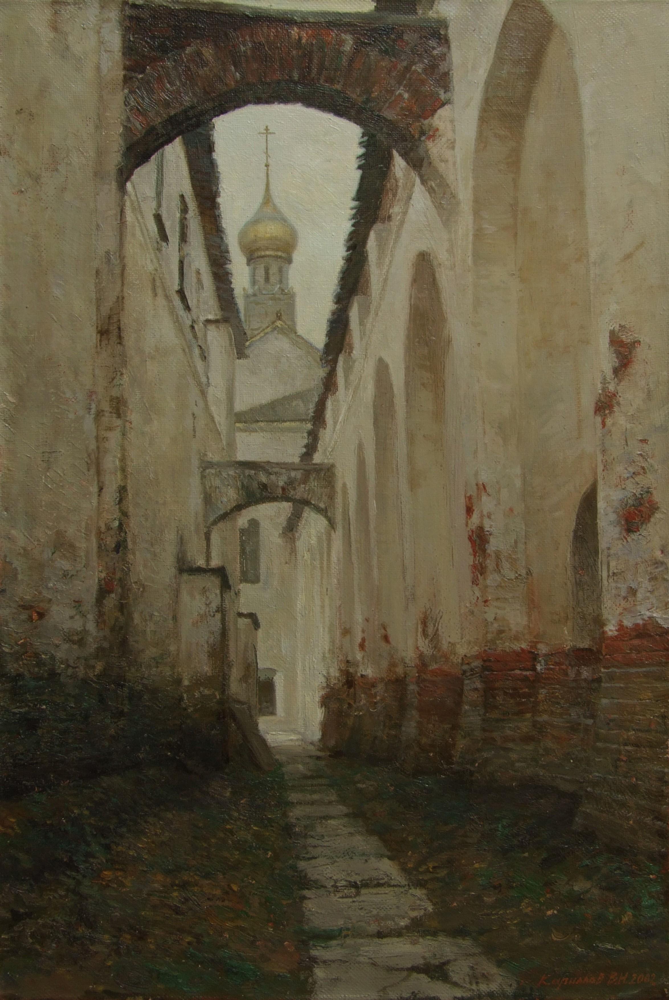 РостовПроход вдоль кремлевской стены