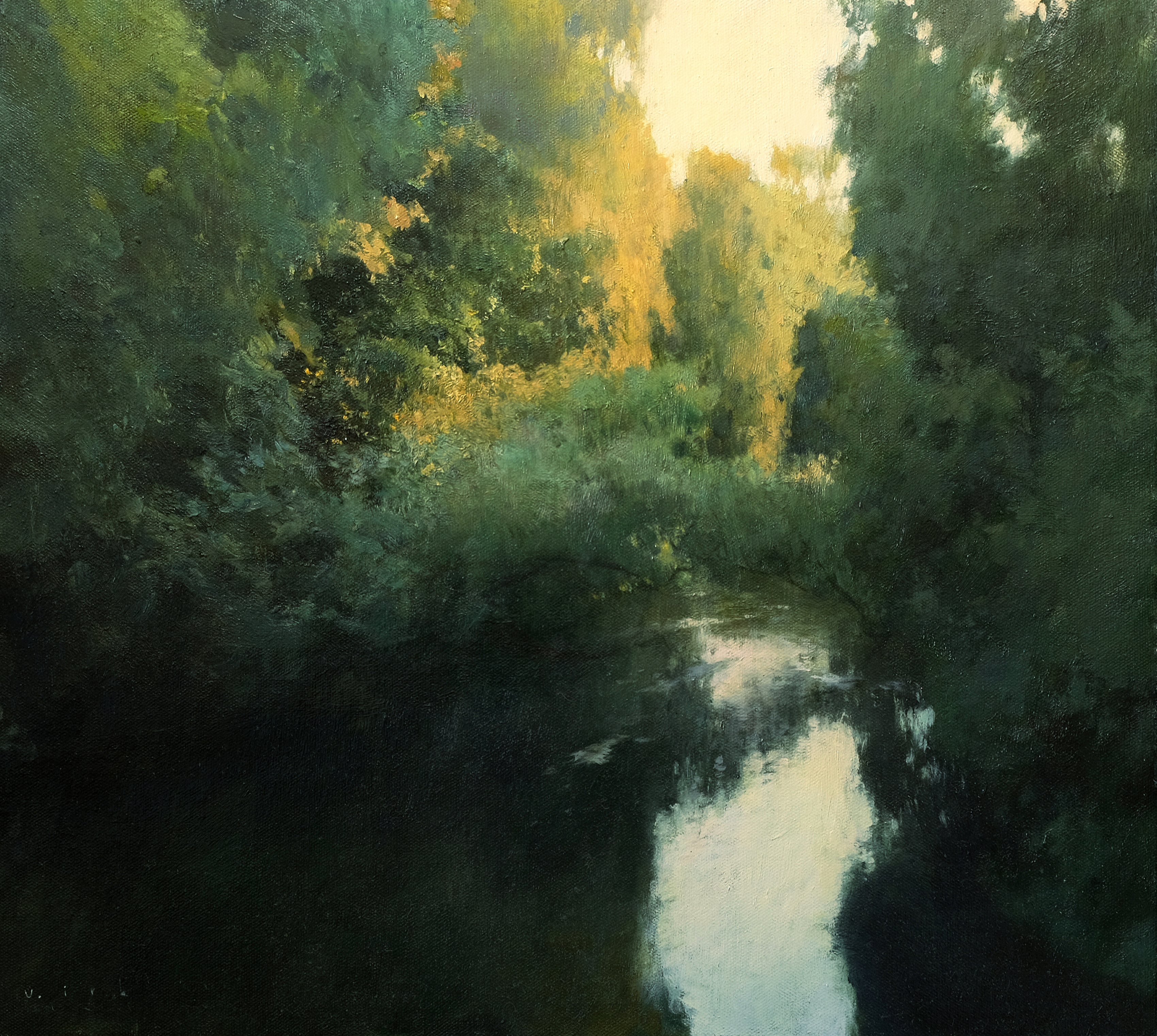 У реки с бегущею водою