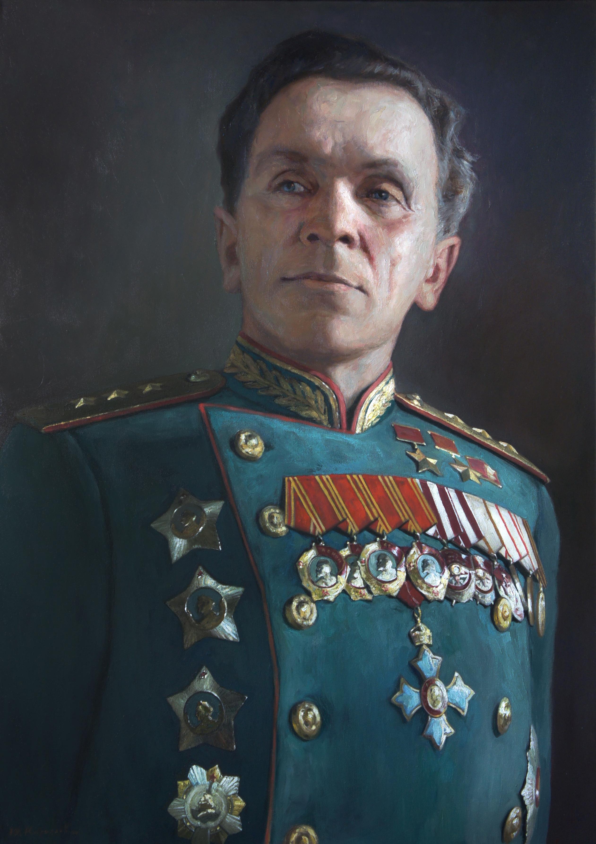 Портрет генерала армии Батова П.И.