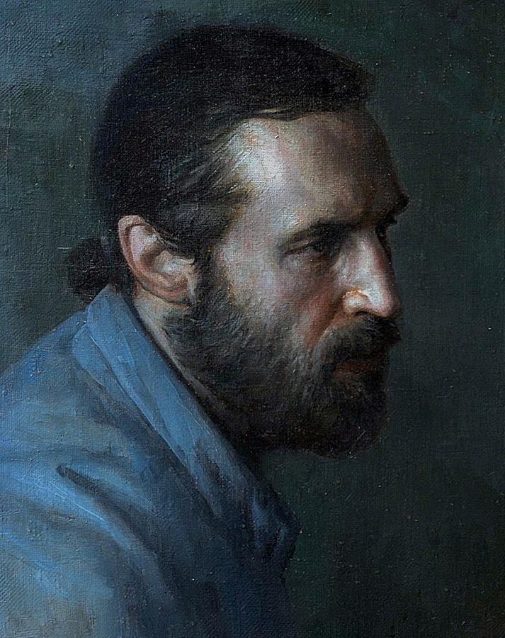 Портрет живописца Кузьмина Олега
