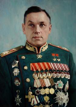 Маршал Сов.Союза К.К. Рокоссовский
