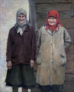 Тётя Шура и баба Маша (Черных)