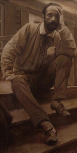 Портрет Левитана И.И.