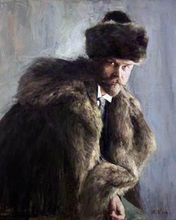 Портрет Кустодиева.Б.М.