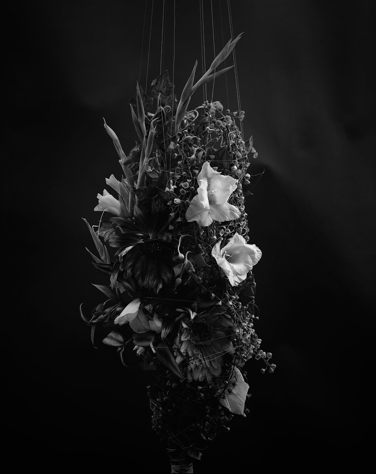 Untitled, Fiber-based darkroom print, warm-tone paper, selenium toned.