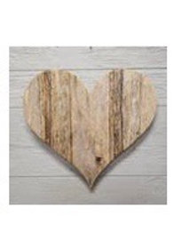 Wooden Heart - ready to hang! At Shingle Springs location