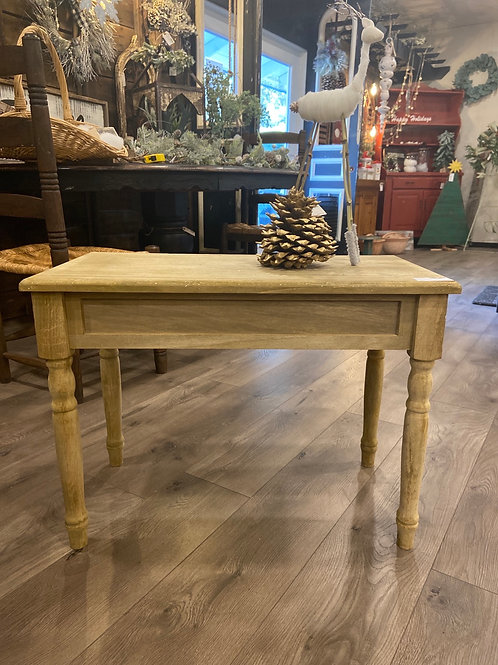 Sale/ Wood Side Table (was $89)