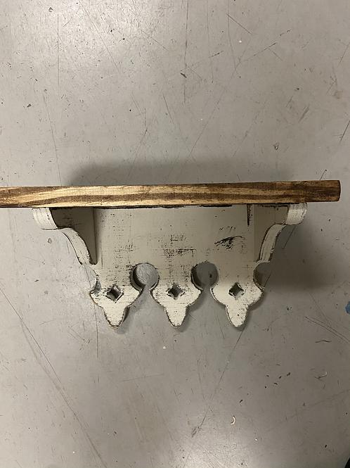 Small Scalloped Reversible Shelf