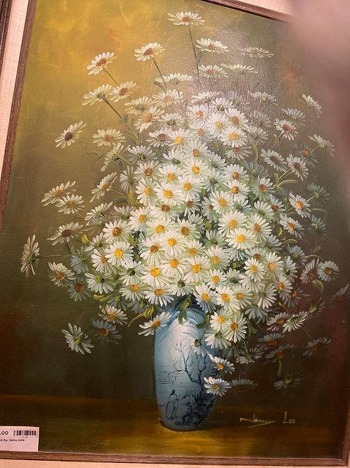 Daisies by Janu Lee Painting