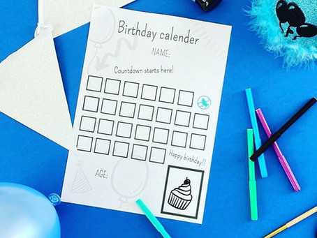 Birthday countdown calendar important?
