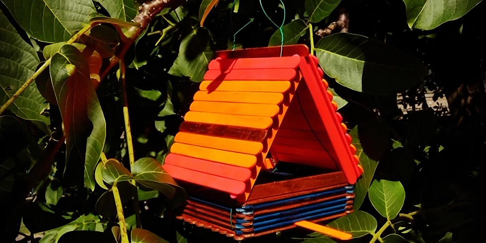 CRAFT your own BIRD HOUSE