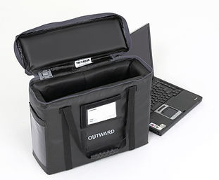 Versapak Reusable Padded Protective Carriers are used to store and transport laptops, smart devices and tablets from one location to another. They are manufactured with rigid impact protectors and internal padding to keep fragile items safe. When sealed using Versapak T2 security seals, the tamper evident locking system helps prevent data breaches.