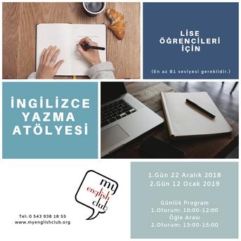 Writing Seminar / İngilizce Yazma Atölyesi