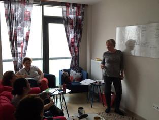 """""""Edinburgh 2"""" grubumuz konuşma oturumlarına bugün başladı."""