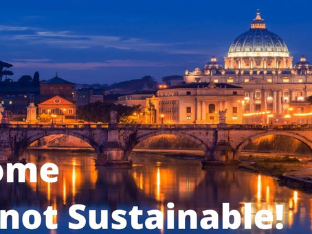 Rome is not a Sustainable City