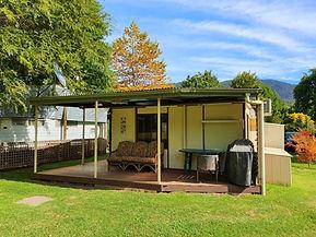 VAN at Jamieson Caravan Park Accommodati