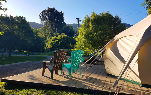 Glamping Tent 2 Outside